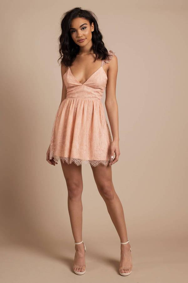 Anika Lace Skater Dress