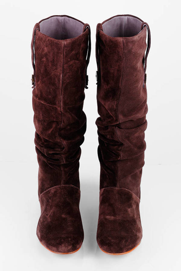 16b0654830b Highkoo II Slouchy Button Boots