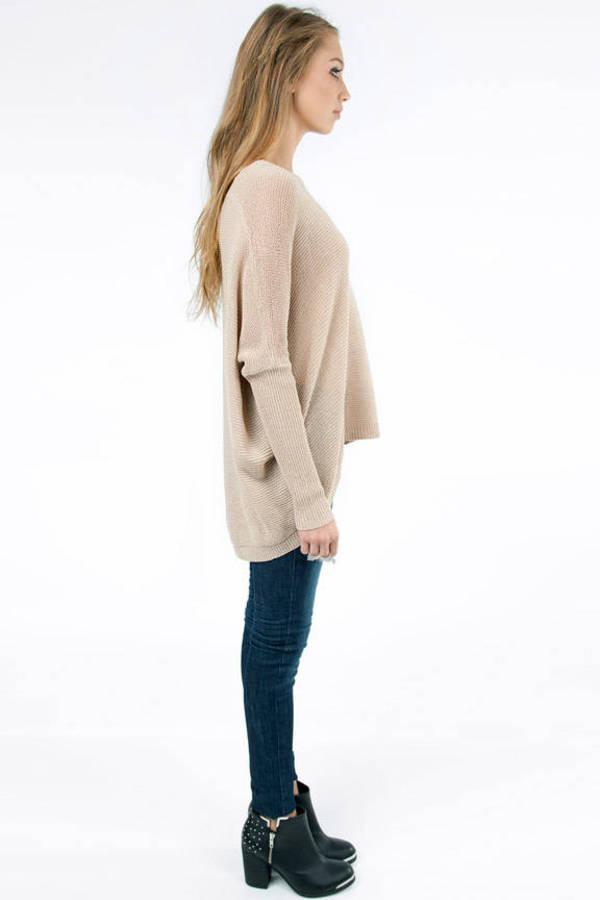 Cozy Sunday Scoop Neck Sweater