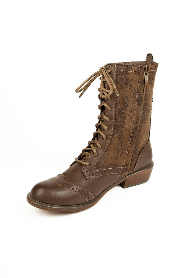 Dirty Laundry Paxton Lace Up Boots