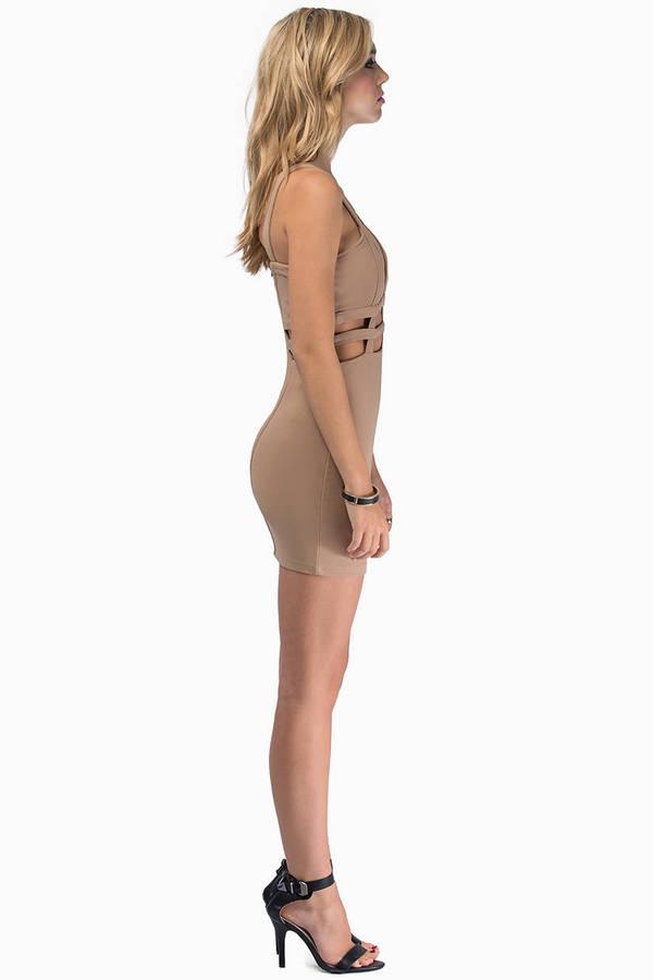 Venetian Bodycon Dress