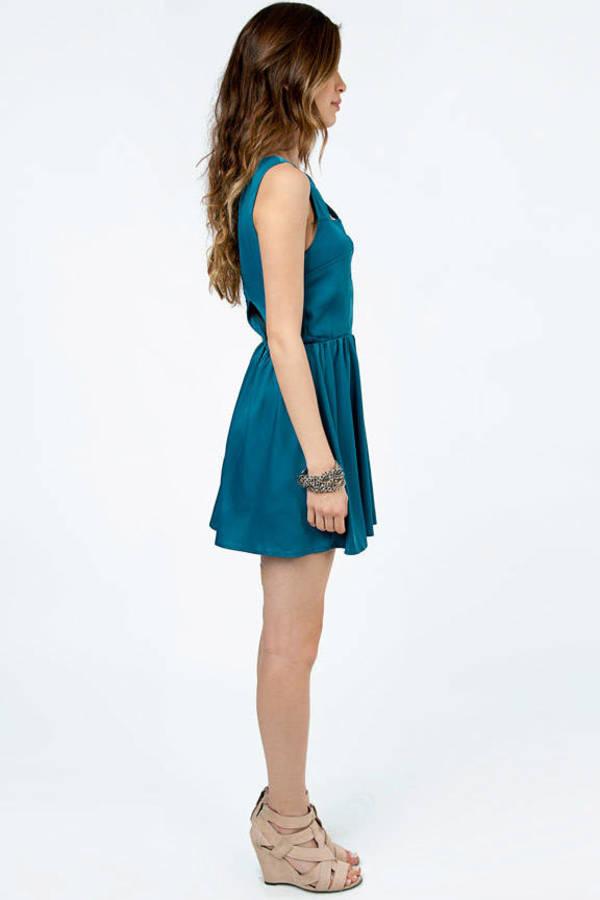 Georgina Cutout Skater Dress