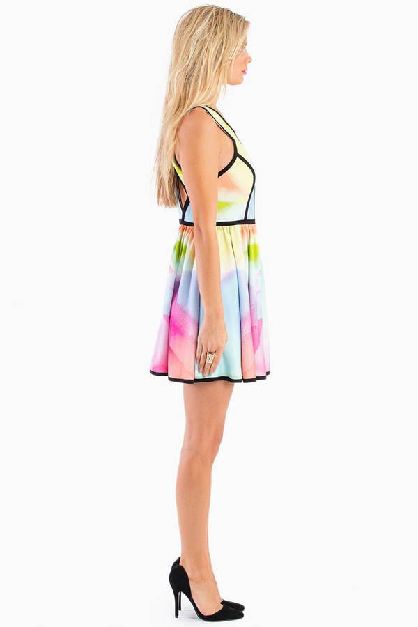Keepsake Flash Back Dress
