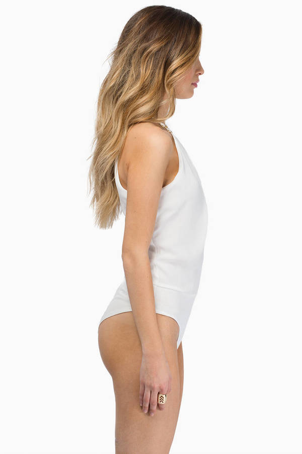 Baring Shoulders Bodysuit