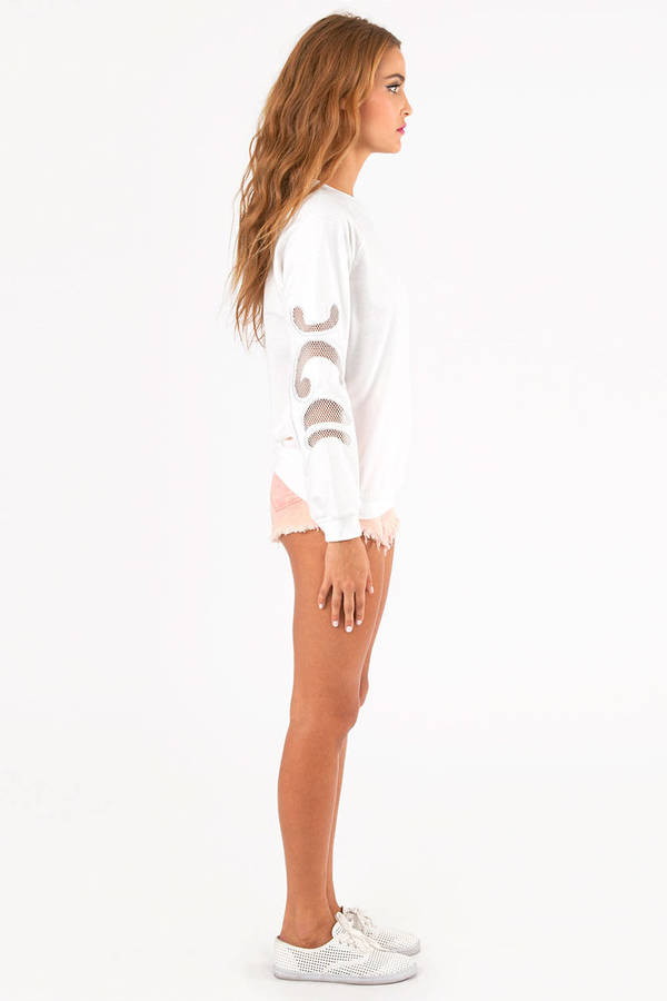 Crystal Cutout Sweater