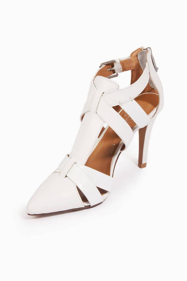 Report Footwear Delwin Strappy Heels