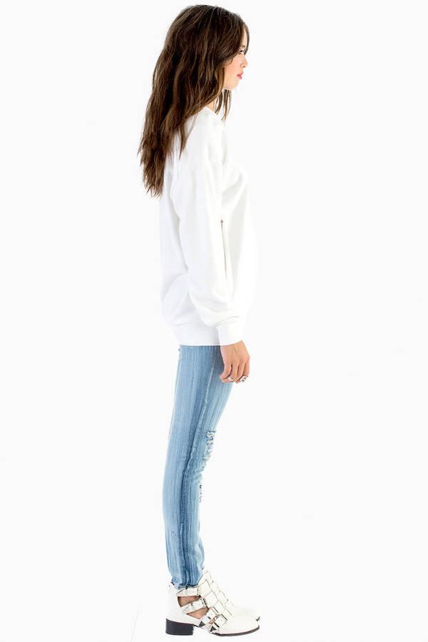 Eliza Embossed Brocade Sweater