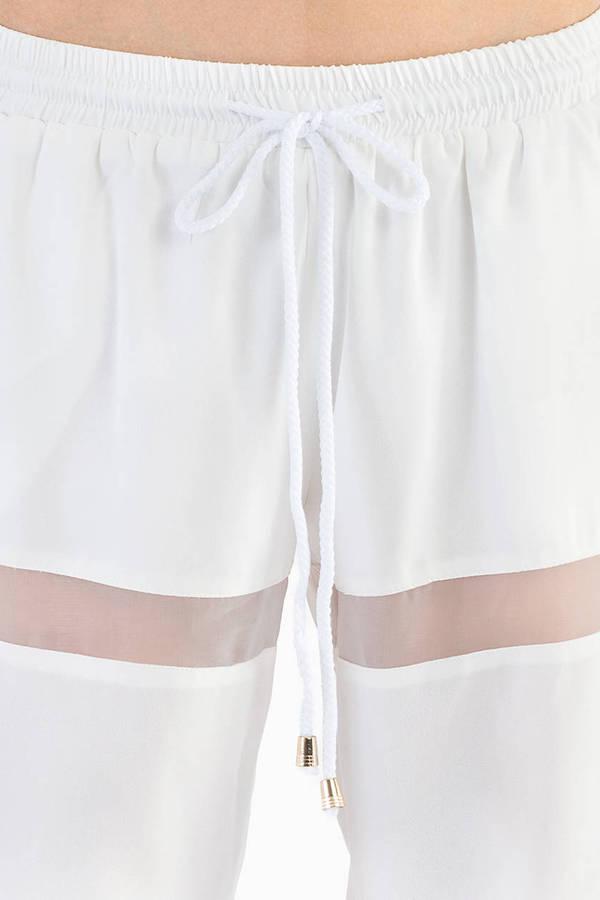 Flash Back Mesh Pants