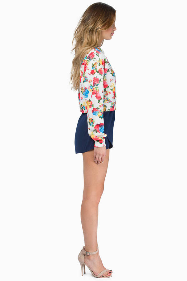Flower Up Sweater
