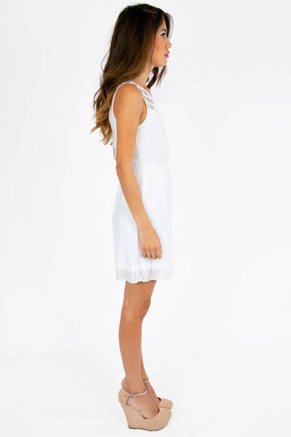 Kaylen Pleated Dress