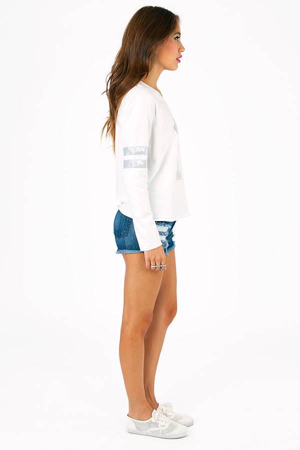 Magic Number Varsity Sweater