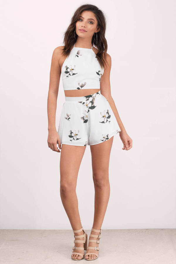 Shorts - Festival Shorts - Fancy Shorts - White Multi Shorts - $50.00