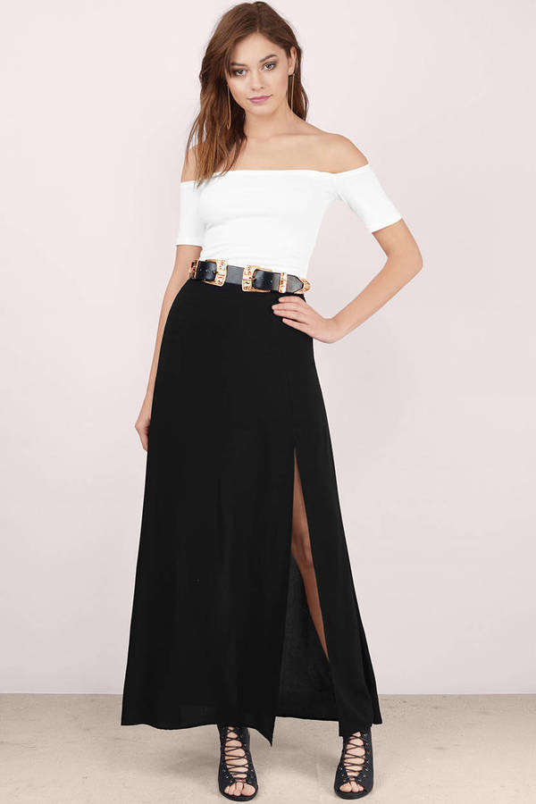 Shrug It Off Shoulder Top
