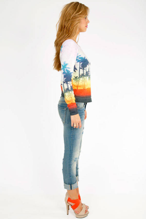 Chaser LA Sunset Beach Pullover