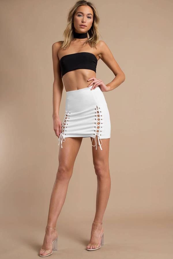 04623e1f243 ... Why Bother White Skirt