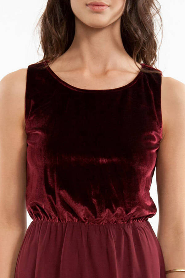 Sweet Velvet Dress
