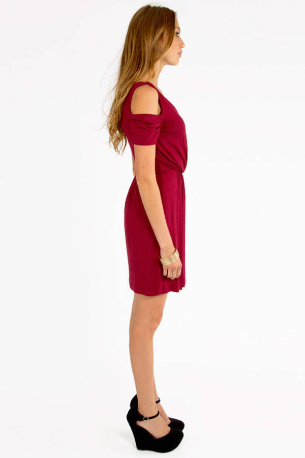 Vickii Cutout Shoulder Dress