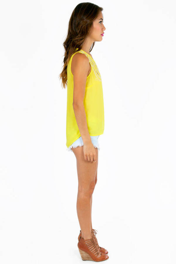 Jackie Slight Back Slit Top