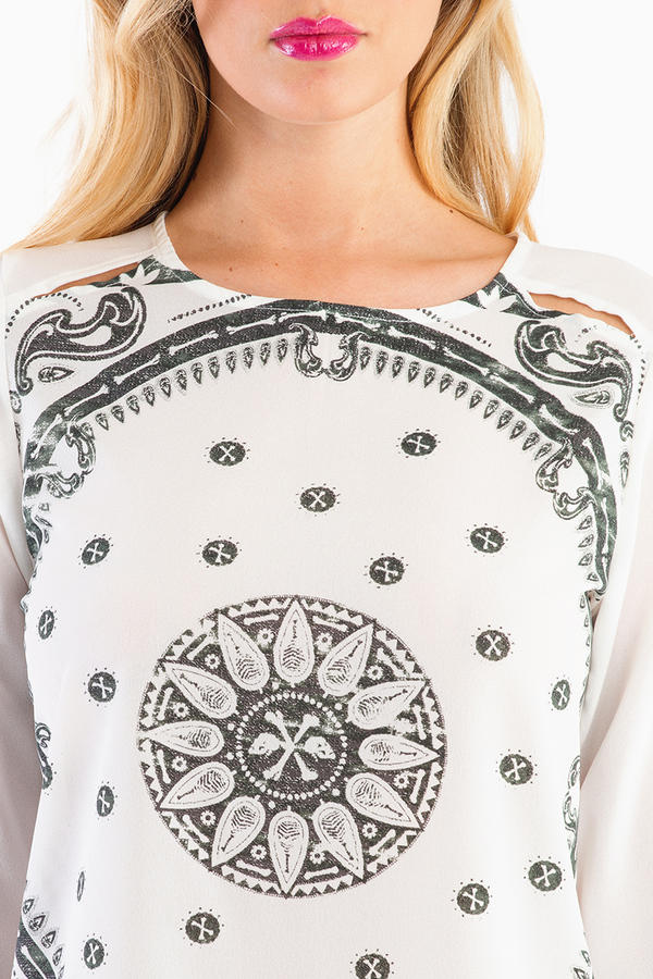 Insight Mystic Bandanna Top