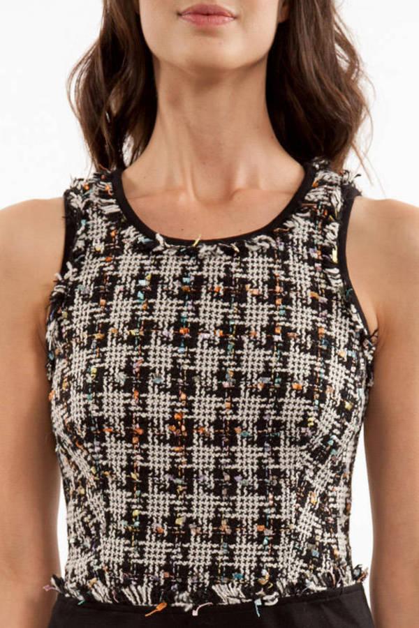 Constance Tweed Dress