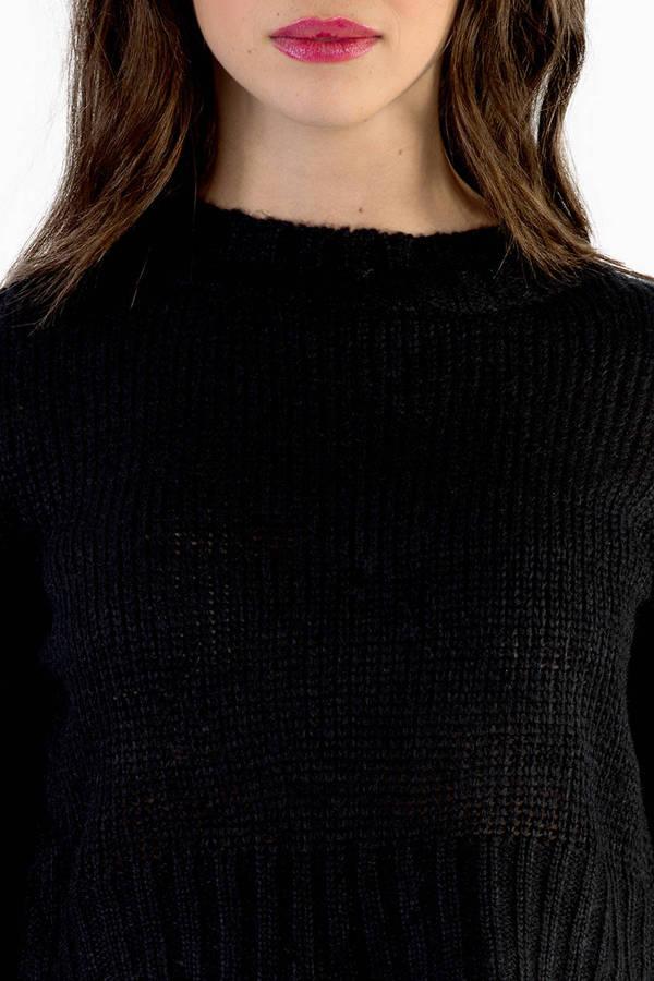 Fall Short Sweater
