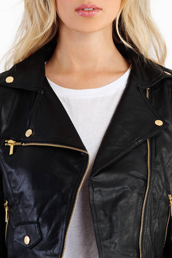 Going Side Zip Moto Jacket