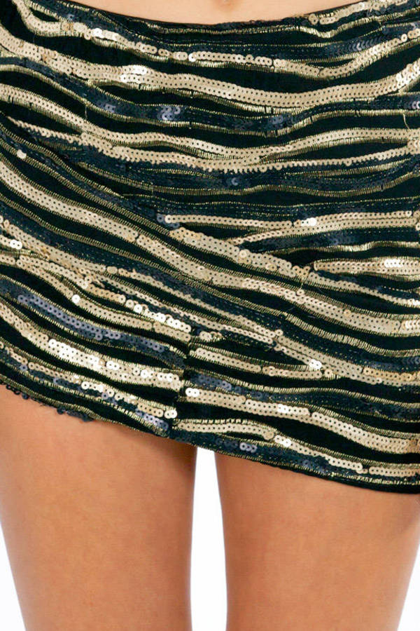 Chasing Sequins Skirt