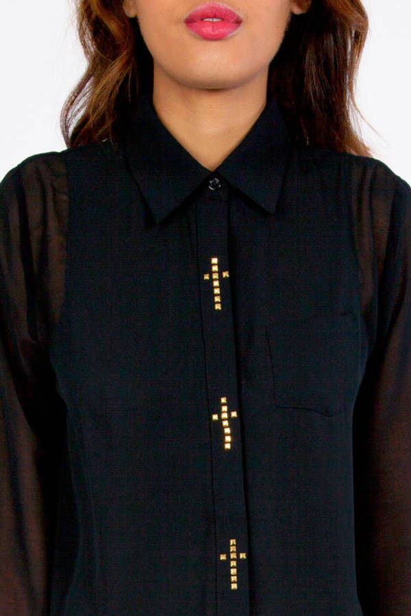 Holy Buttons Blouse