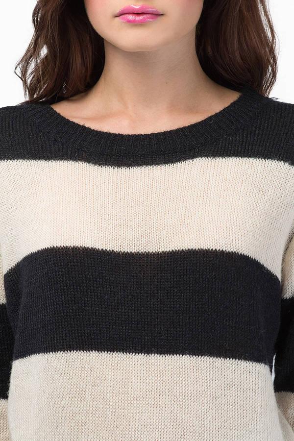 In Between Lines Sweater