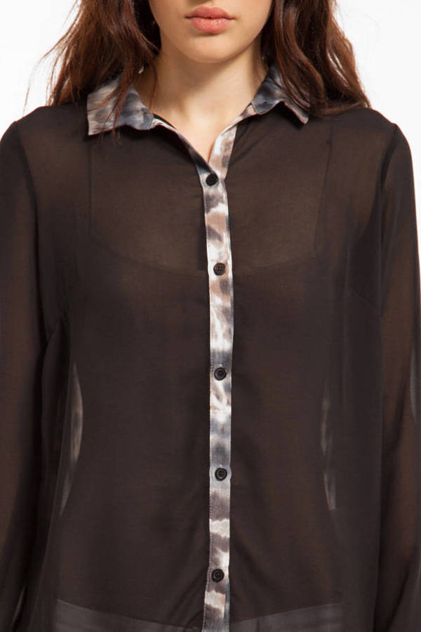 Riptide Button Up Blouse