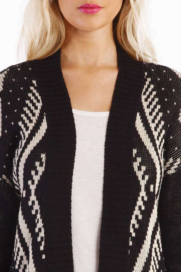 Raja Open Diamond Cardigan