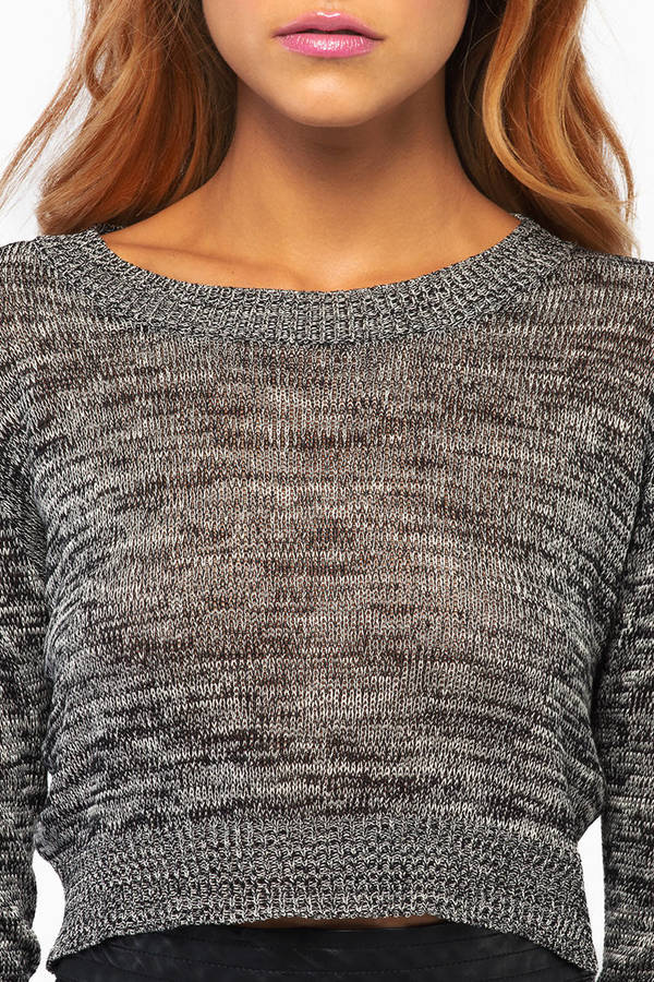 Sabrina Cropped Sweater