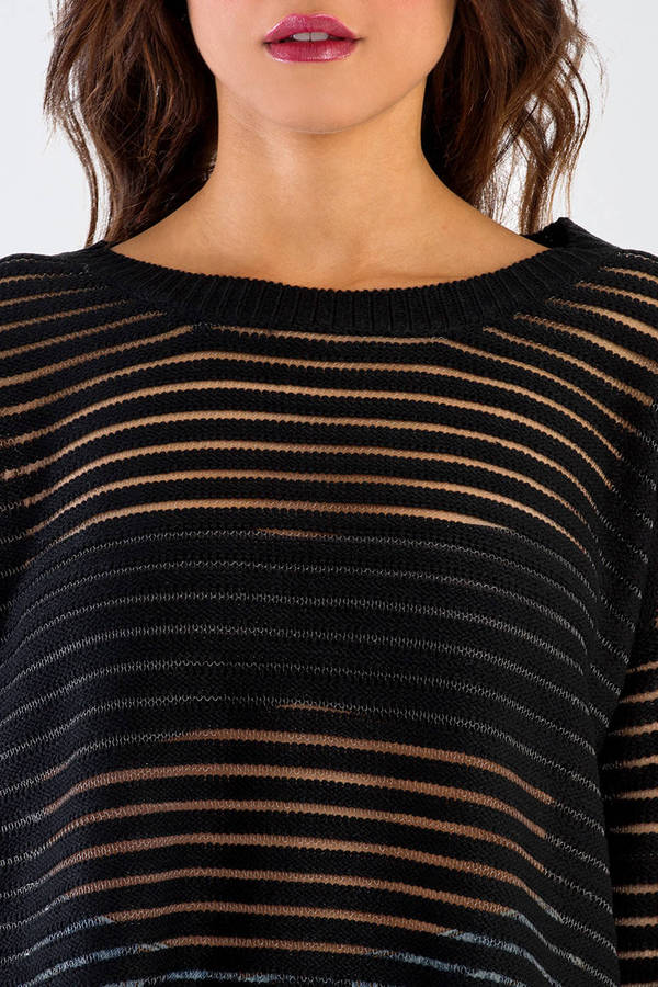 See Through Lines Sweater