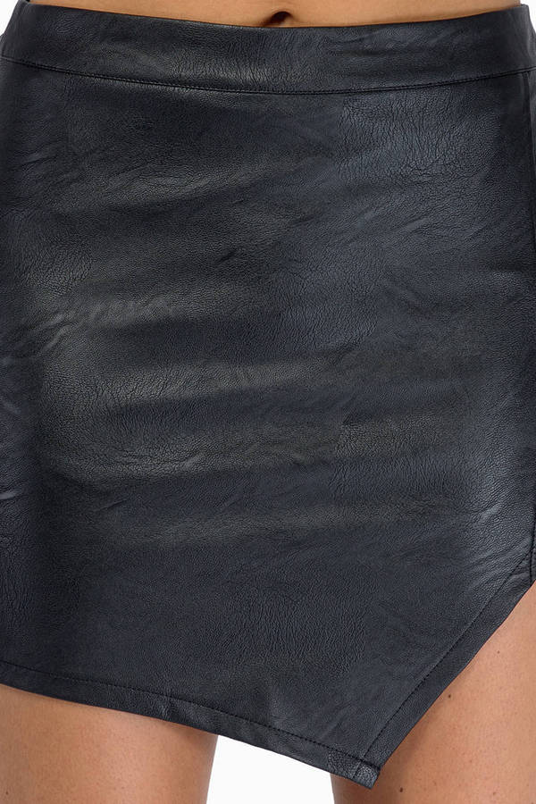 Slippin' Sideways Mini Skirt