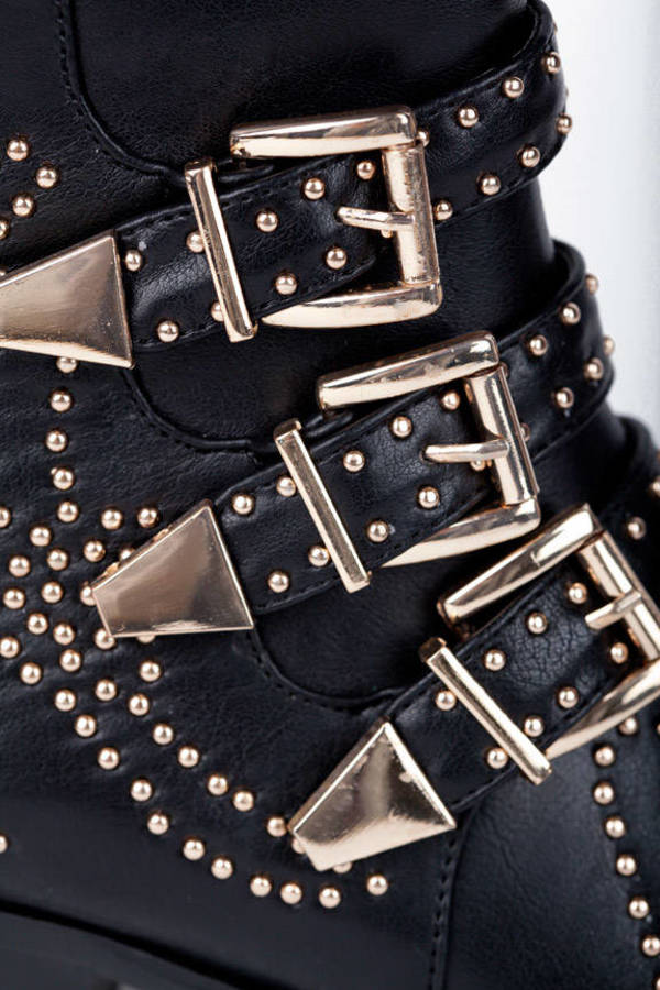 Studs In Your Step Booties