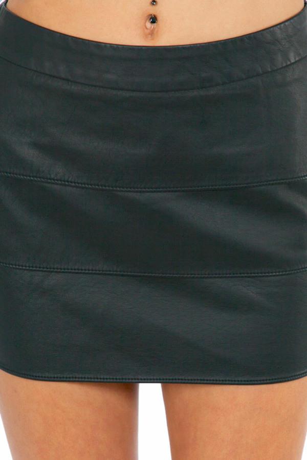 Tier It Up Mini Skirt