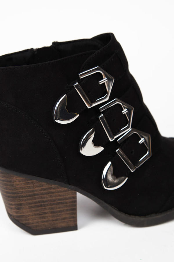 Triple Time Buckle Booties