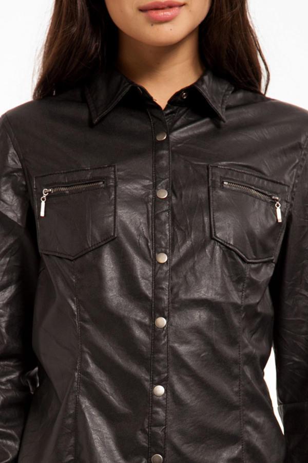 Blank Vegan Button Up Jacket