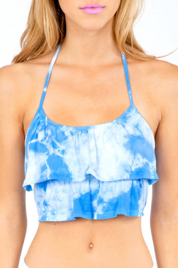 High and Dye Crop Top