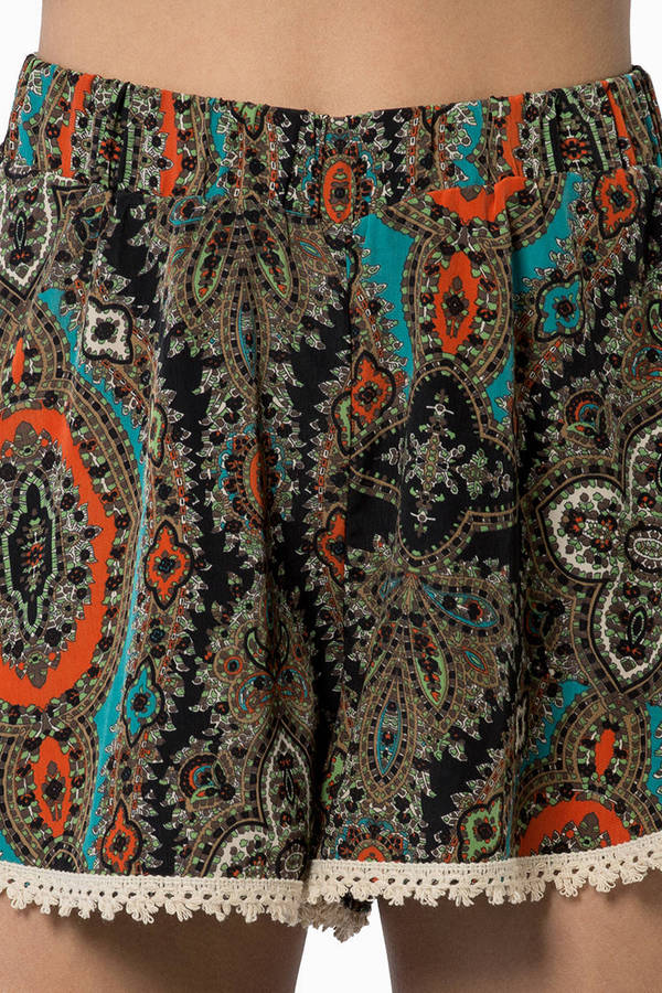 Amity Lace Trim Shorts
