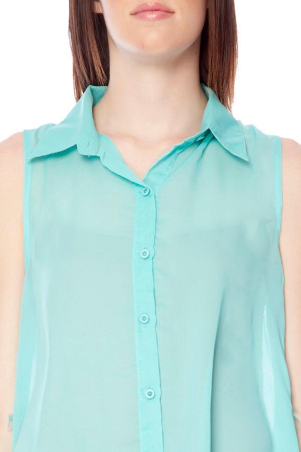 Un-Button Down Belted Shirt