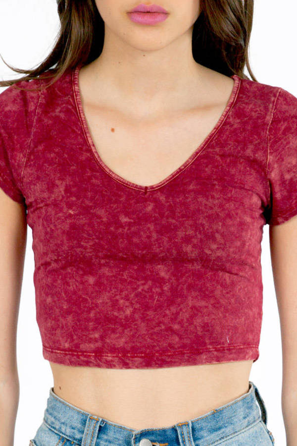 Acid Test Crop Top