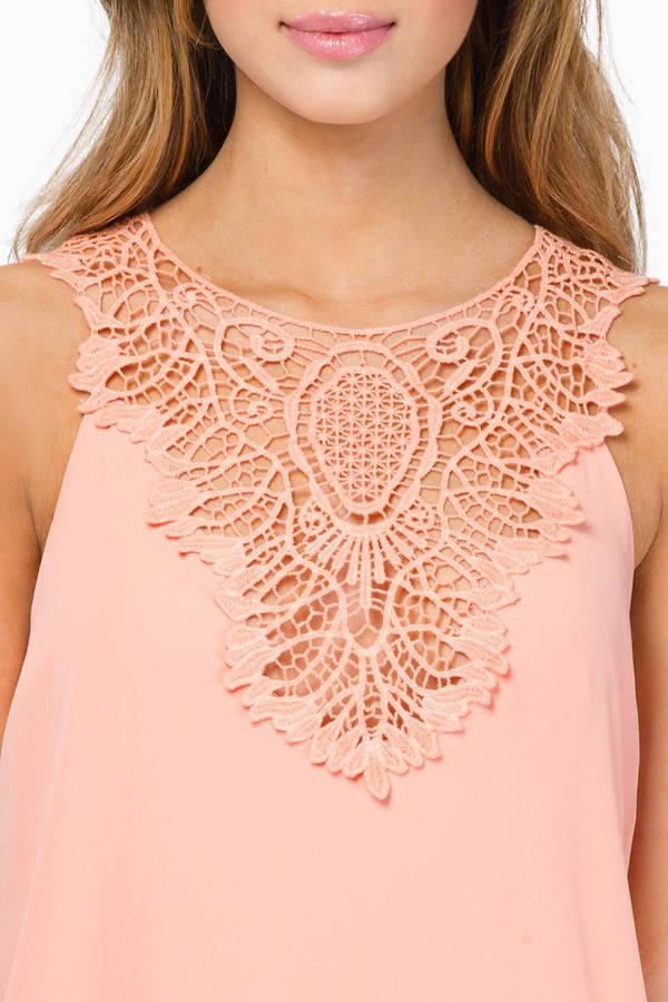 Carried Away Crochet Dress