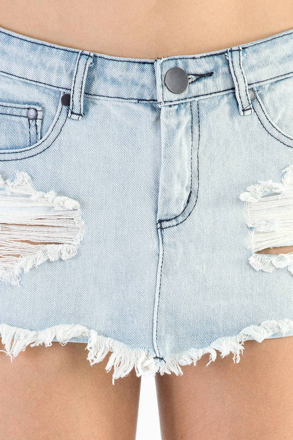 Fairfax Denim Skirt in Corona