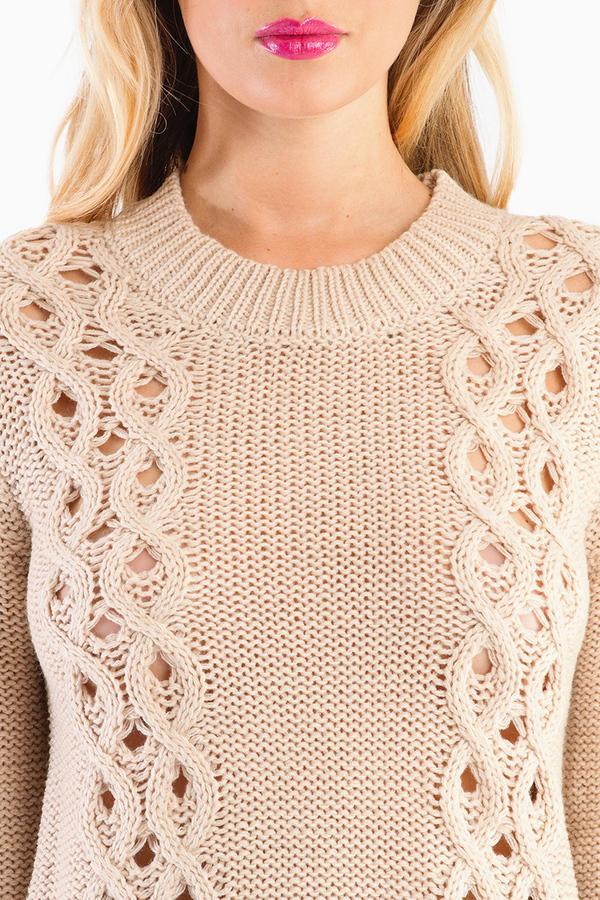 Ayden Crochet Sweater