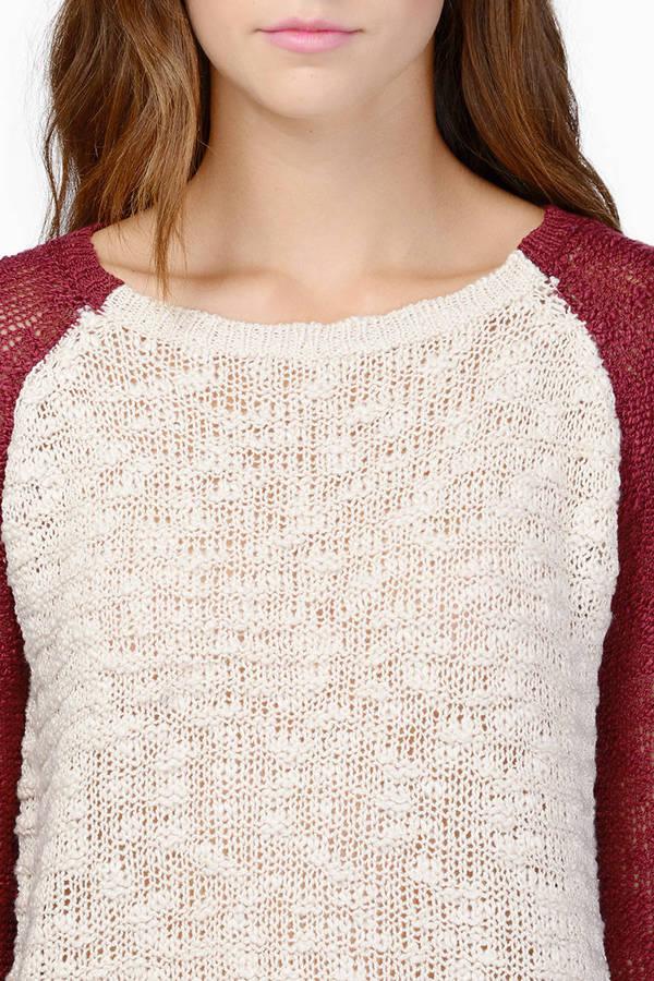 Kristen Contrast Sweater