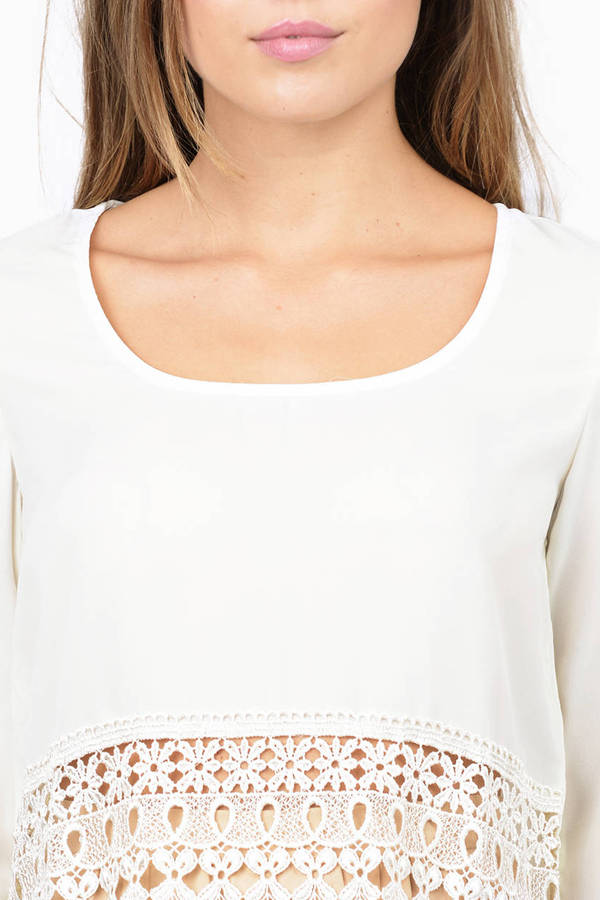 Caroline Cropped Blouse