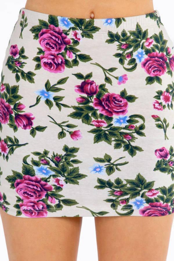 Floral Rhapsody Skirt