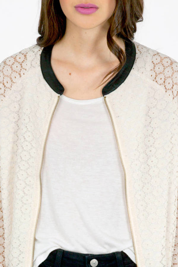 On the Edge Bomber Jacket