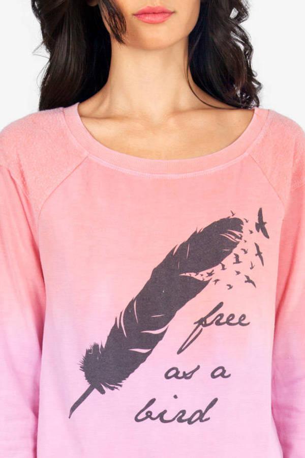 Chaser LA Free As A Bird Raglan